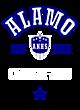 Alamo Womens Cotton V-Neck T-shirt