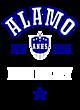 Alamo Womens Long Sleeve V-Neck Competitor T-Shirt