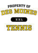 Des Moines Adult Competitor T-shirt