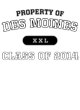 Des Moines Youth Classic Fit Long Sleeve T-shirt
