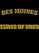 Des Moines Women's Classic Fit Heavyweight Cotton T-shirt