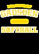Gadsden New Era Ladies Tri-Blend Performance Baseball Tee