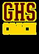 Gadsden Womens Holloway Heather Electrify V-Neck Shirt