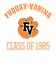 Fuquay-Varina Youth Heavyweight Sleeve Stripe Hooded Sweatshirt