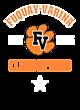 Fuquay-Varina Lightweight Hooded Unisex Sweatshirt