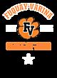 Fuquay-Varina Ladies Electric Heather Racerback Tank