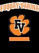 Fuquay-Varina Womens Holloway Electrify V-Neck Long Sleeve
