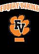 Fuquay-Varina New Era Ladies Tri-Blend Performance Baseball Tee