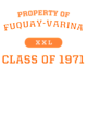 Fuquay-Varina Russell Essential Hooded T-Shirt