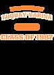 Fuquay-Varina Ladies Sport-Wick Heather Fleece Hooded Pullover