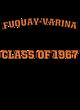 Fuquay-Varina Womens Vintage Tri-Blend Hooded Pullover