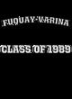 Fuquay-Varina Youth Heavyweight Contrast Hooded Sweatshirt