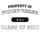 Fuquay-Varina Womens Sport Tek Heavyweight Hooded Sweatshirt
