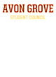 Avon Grove Fan Favorite Heavyweight Hooded Unisex Sweatshirt