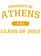 Athens Competitor Cotton Touch Training T-Shirt