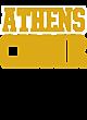 Athens Womens Holloway Electrify V-Neck Long Sleeve