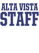 Alta Vista Bella+Canvas Women's Triblend Racerback Tank