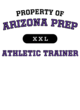Arizona Prep Tri-Blend Wicking Fleece Short Sleeve Hoodie