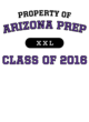 Arizona Prep Youth Classic Fit Long Sleeve T-shirt