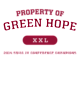 Green Hope Pigment Dyed Crewneck Unisex Sweatshirt