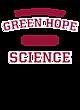Green Hope Womens Tech Fleece Hooded Sweatshirt