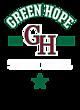 Green Hope Womens Ultimate Performance V-Neck T-shirt