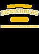 McNicholas Ladies Tri-Blend Wicking Fleece Crop Hoodie