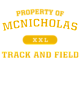 McNicholas Fan Favorite Ladies Long Sleeve Cotton T-Shirt