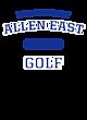 Allen East Youth Electric Heather Hooded Sweatshirt