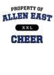 Allen East Youth Ombre T-Shirt