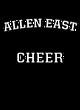 Allen East Womens Long Sleeve V-Neck Competitor T-Shirt
