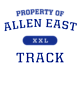 Allen East Ladies Tri-Blend Wicking Long Sleeve Hoodie