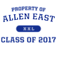 Allen East Nike Legend Tee
