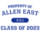 Allen East Youth Classic Fit Lightweight Tee