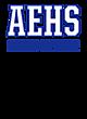 Allen East Embroidered Sport Tek Half Zip Raglan Anorak