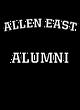 Allen East Vintage Heather Hooded Unisex Sweatshirt
