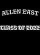 Allen East Ladies Zoe Tonal Heather Hooded Sweatshirt