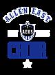 Allen East Tri-Blend Wicking Short Sleeve Hoodie