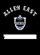 Allen East Digi Camo Youth Long Sleeve Performance T-Shirt
