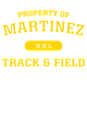 Martinez Youth Heavyweight Sleeve Stripe Hooded Sweatshirt