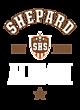 Shepard Womens Vintage Tri-Blend Hooded Pullover