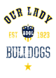 Academy of Our Lady Heavyweight Crewneck Unisex Sweatshirt