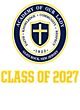 Academy of Our Lady Embroidered Sport Tek Half Zip Raglan Anorak