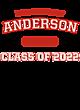 Anderson New Era Tri-Blend Performance Hooded T-Shirt
