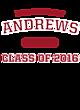 Andrews Long Sleeve Tri-Blend Wicking Raglan Tee