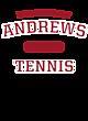 Andrews Ladies Performance Blend V-Neck T-Shirt