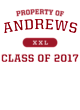 Andrews Youth Classic Fit Lightweight Tee