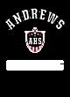 Andrews Vintage Heather Hooded Unisex Sweatshirt