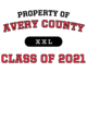 Avery County Classic Fit Heavy Weight T-shirt