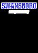Swansboro New Era Ladies Tri-Blend Performance Baseball Tee